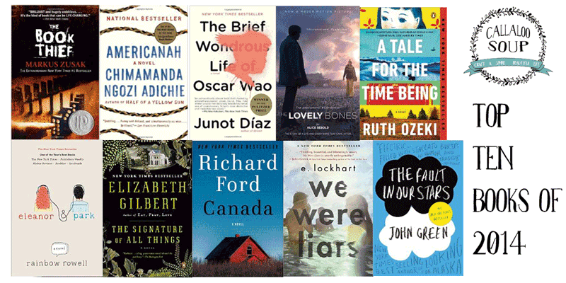 Callaloo Soup Top 10 Books of 2014