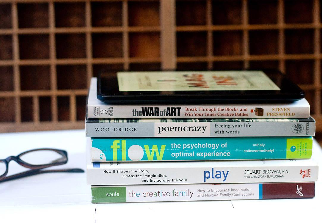 My Favourite Books About Creativity - Callaloo Soup Blog-2