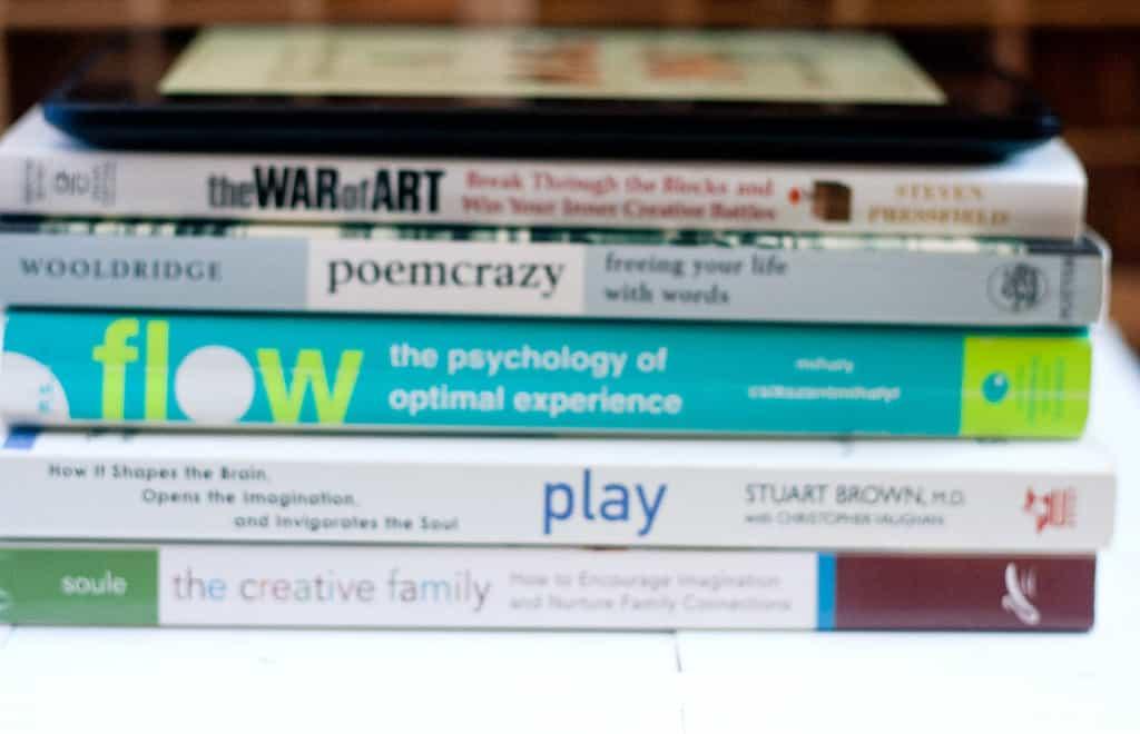 My Favourite Books About Creativity - Callaloo Soup Blog-3