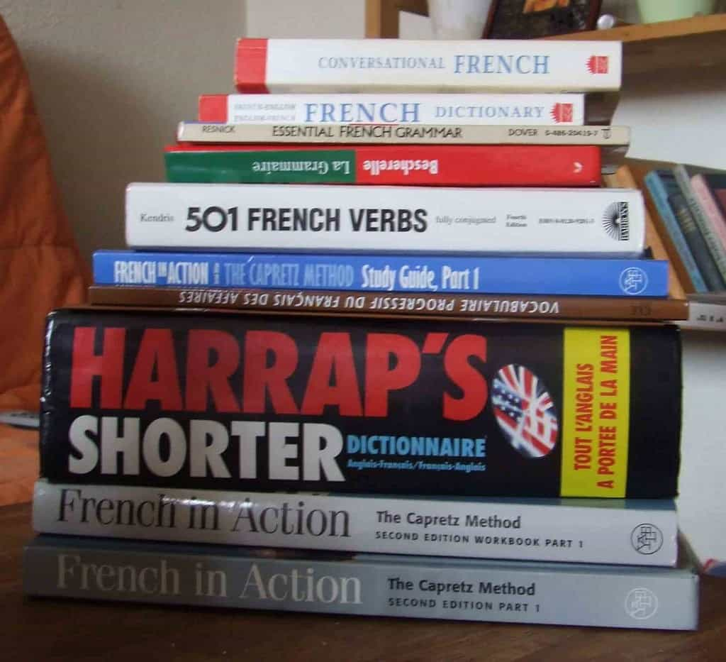 French Grammar Books and Dictionaries