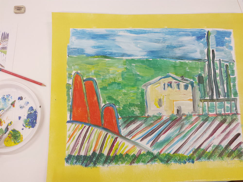 Creating Space With Routines at Callaloo Soup - Art Class