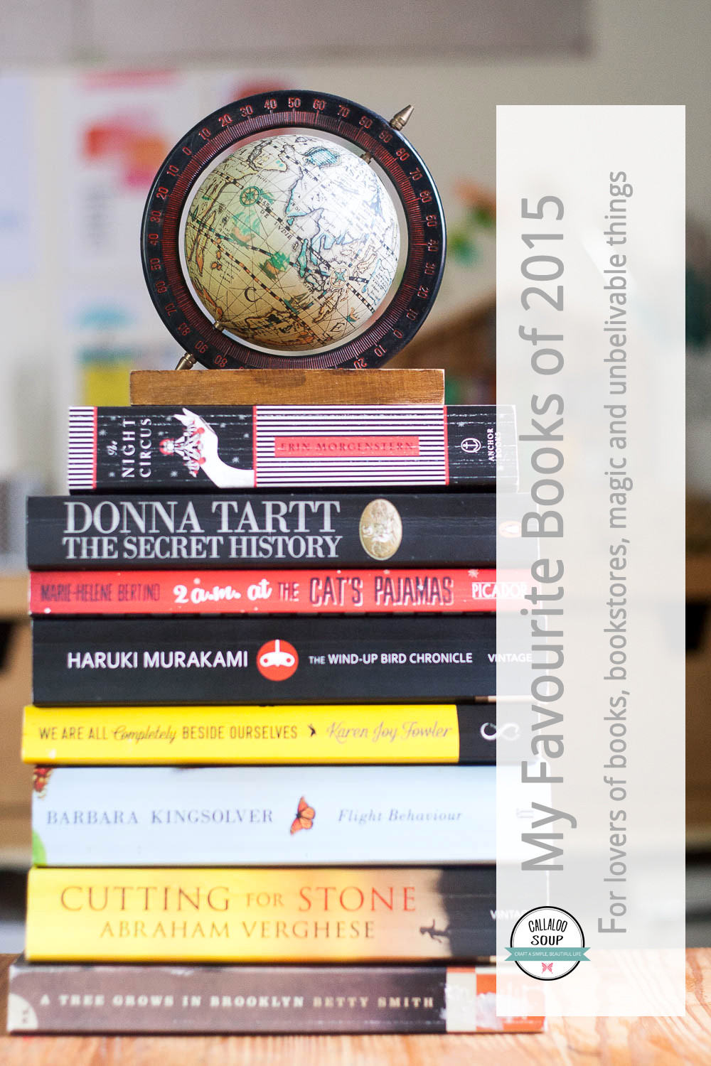 My Favourite Books of 2015 - Callaloo Soup Journal