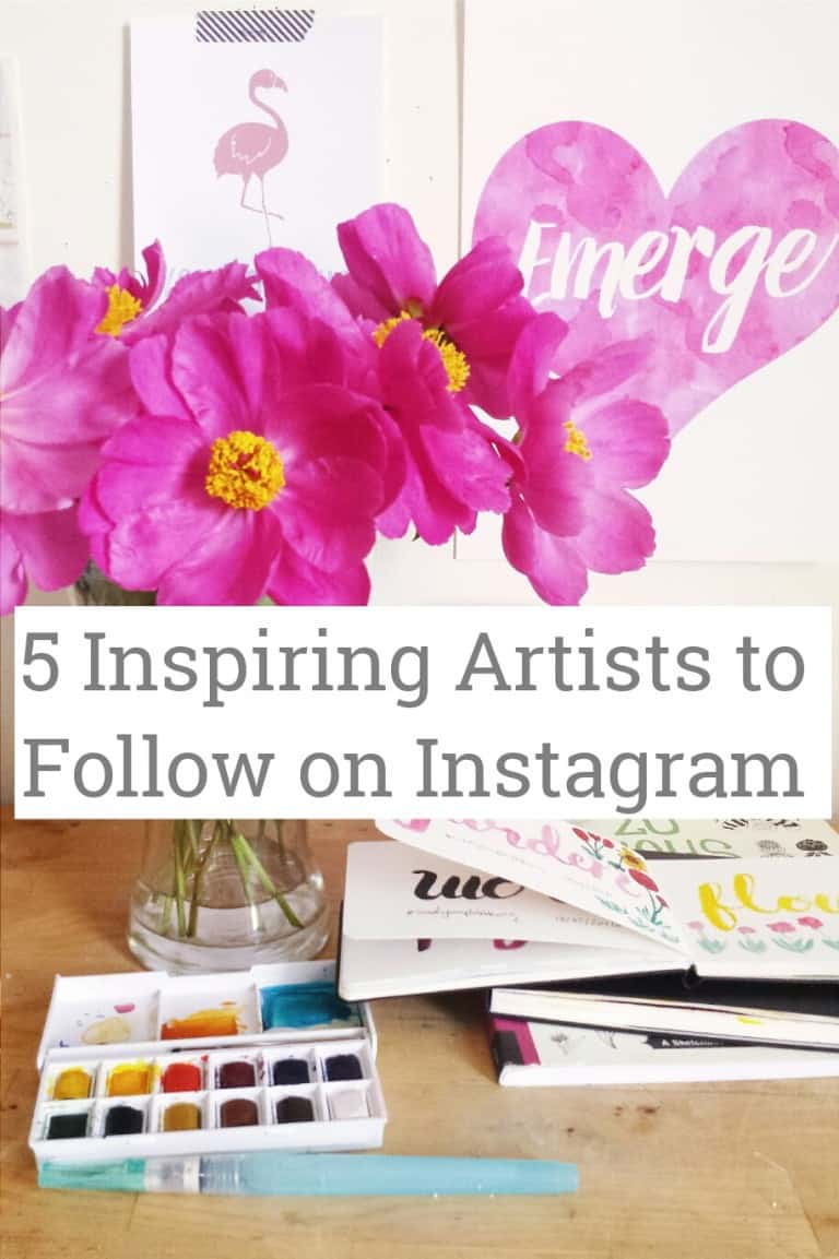 5 Inspiring Artists to Follow on Instagram