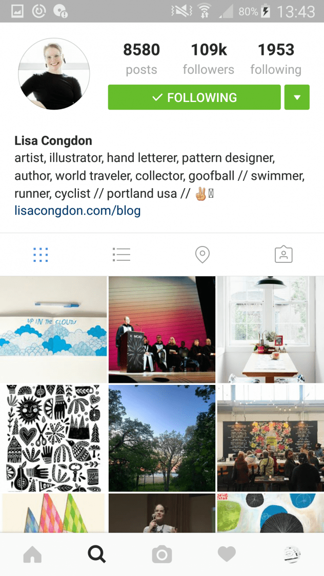 5 Inspiring Artists to Follow on Instagram -Lisa Congdon