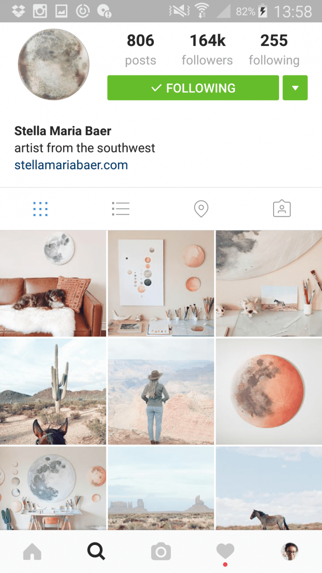 5 Inspiring Artists to Follow on Instagram - Stella Maria Baer