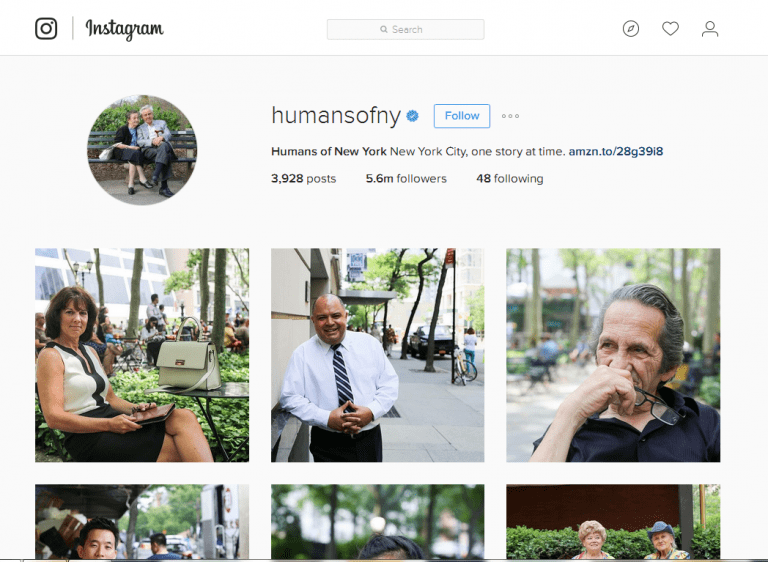 5 Male Instagrammers to Follow - Humans of New York